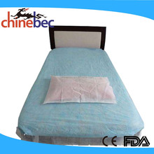 OEM Price Plastic 3D Waterproof Bed Cover/Bed Sheet for Hospital Bed