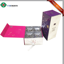 novelty design moon cake box , decorative cake packaging boxes