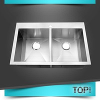 2016 Modern small double kitchen sink