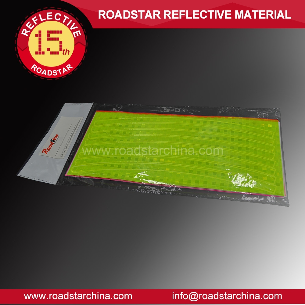 Manufacturer supply PVC rim reflector stickers