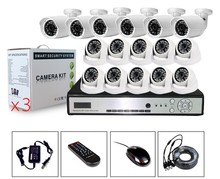 TL-9600PK1006 HD h.264 p2p 960P 16ch IP Kits with 10pcs Nvr&6pcs Dome popular waterproof ip camera h.264 wifi nvr kits