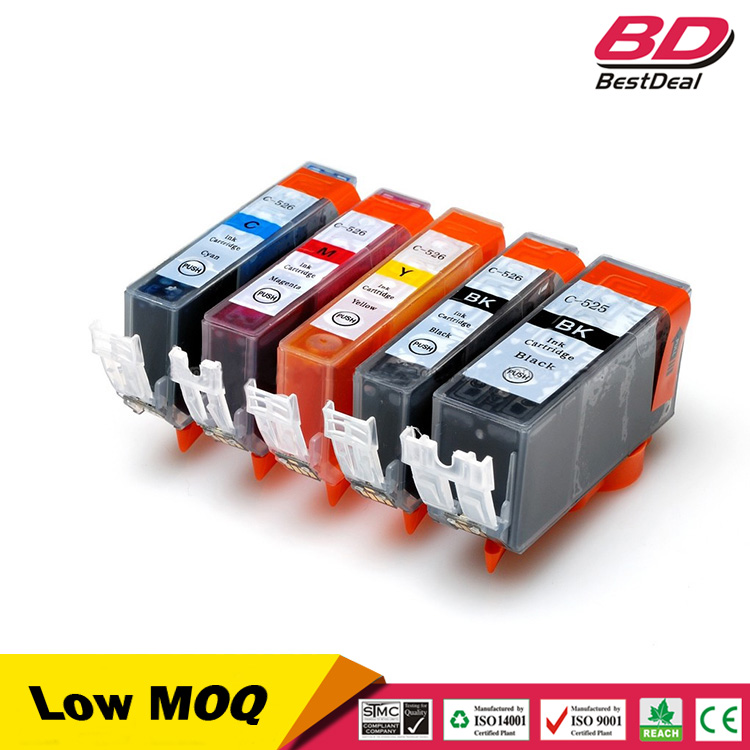 Computer Printer Compatible Ink Cartridge PGI-525 CLI-526 PGI525 CLI526 for Canon