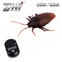 remote cockroach nfrared RC Cockroach DWI 9916 Mock Fake Prank Insects RC Animal electronic toy cockroach toy