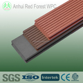 waterproof decorative wood plastic wpc solid decking