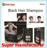 Factory directly hair darkening shampoo white hair dye products with no allergy