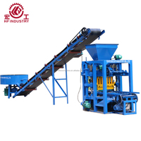 QT4-26 Hot sale brick making machine/d block and brick making machine/fly ash brick making machine in india price