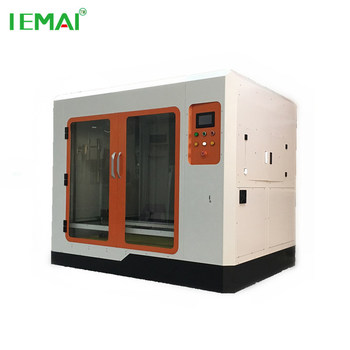 1000 mm Dual extruder 3D printer for architectural models large industrial printing