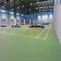 Indoor Durable pvc badminton Flooring for sport from china