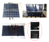 200W Fabric solar panel for outdoor camping , portable and foldable solar panel