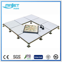 Steel cementitious raised floor metal computer floor