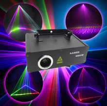 500MW 3D 5 Colors Stage Animation Laser Lights For DJ KTV