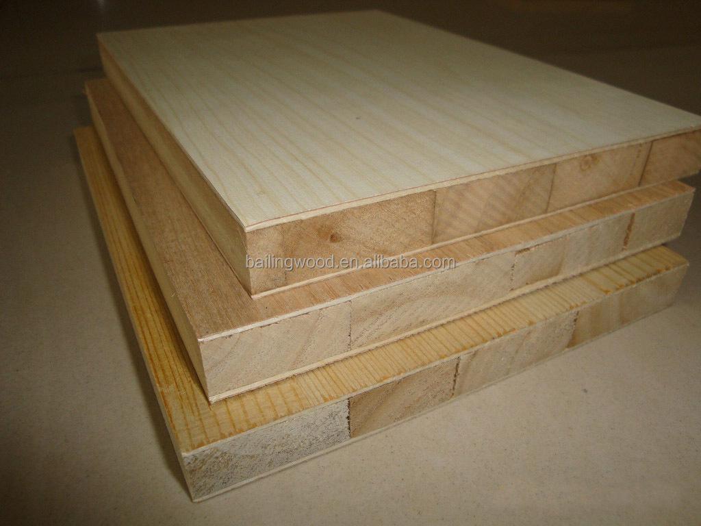 Best Price 19mm Indonesia Falcata Core Melamine Blockboard