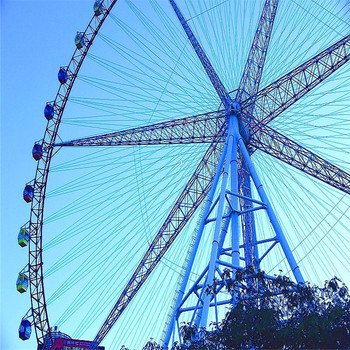 popular customized outdoor playground ride giant ferris wheel for sale