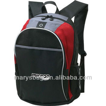 classic Backpack with integrated MP3 pocket with earphone outlet