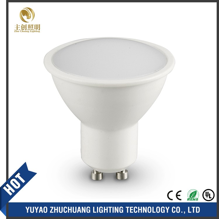 Wholesale no flicker aluminum housing 3w dimmable Gu10 GU5.3 aluminum 5w cob led spotlight