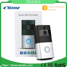 Bessky wireless wifi doorbell 720P battery operated outdoor wireless security camera