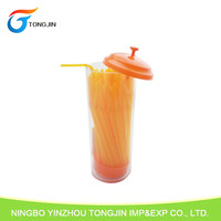 Hot Sell Flexible plastic drinking straw dispenser