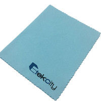 Screen Glasses CD DVD Lens Custom Logo Print Promotional Microfiber Cleaning Cloth