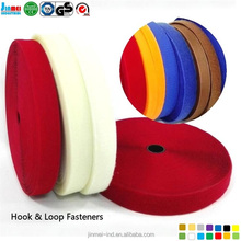 2017 JM-HL25A china manufacturer high quality hook loop,hook and loop tape for Garment and underware