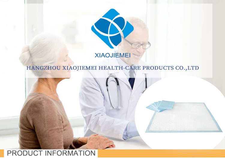 Super absorbent hospital medical use Disposable Incontinence Under pad