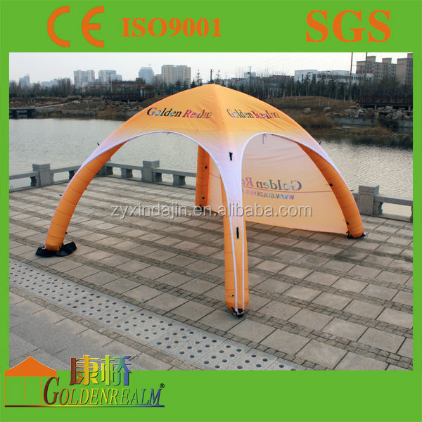 3*3m 4legs Inflatable tent/air dome tent/inflatable clear dome tent
