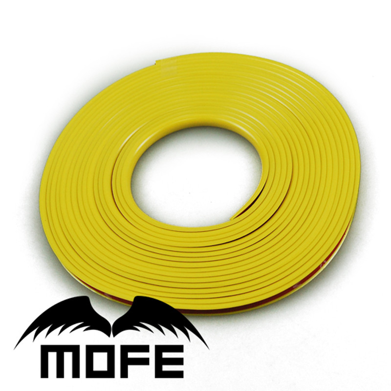 Mofe Racing Car Wheel Protector Green Trim Scratch Protection