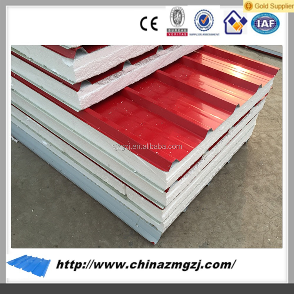 passed ISO/CE low price rockwool roof wall sandwich panel