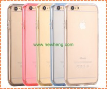 5 colors Ultra Thin 360 Degree front+back Tpu Phone Case For iphone 7 plus