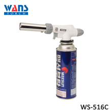 Mini adjustable WS-516C butane lighter heating gas torch