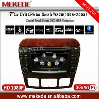 3G /WIFI Special CAR DVD/cassette/audio player for Mercedes Benz S Class W220 S280 S320 S350 S400 S420 S430 with full functions