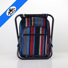 Outdoor picnic chair bag 2 person folding cooler chair bag for camping