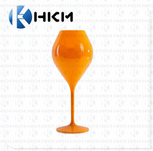 Plastic Wine Glass Polycarbonate Decorative Wine Glass, Personalized Champage flutes