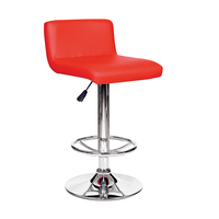Durable adjustable height modern high swivel bar stool
