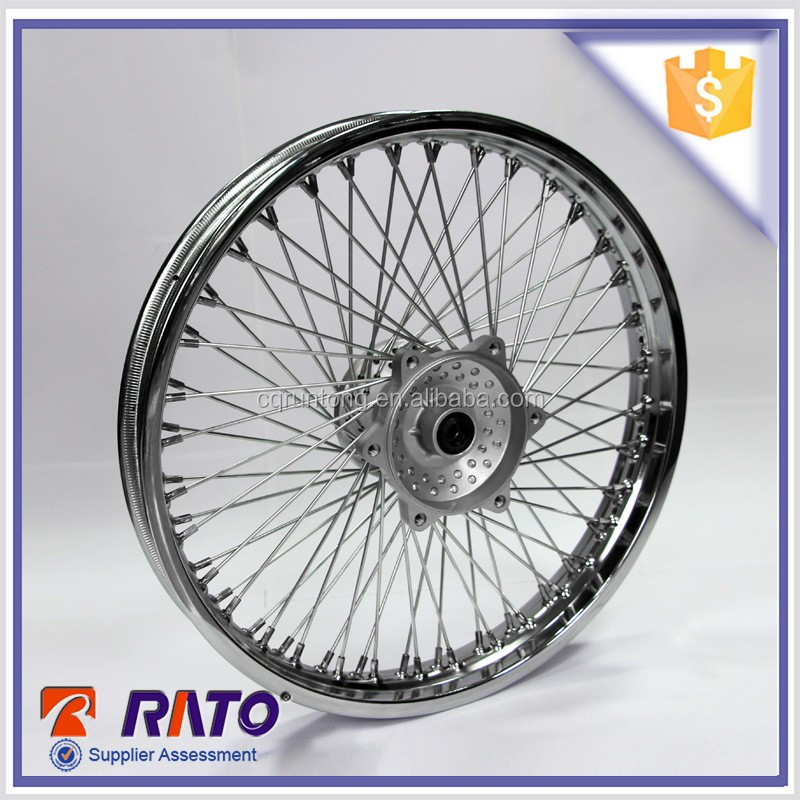 Front disc-brake wheel with Six holes motorcycle rim for sale
