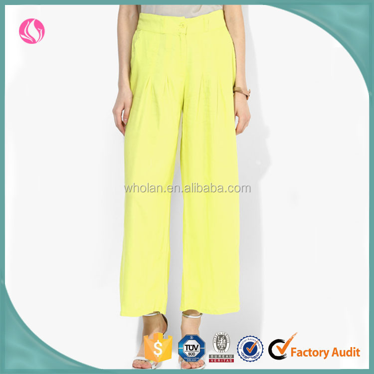 Woman Clothing Wholesale Icing Palazzo Pants Women Chiffon Loose Trousers