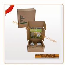 OEM fruit basket carve packaging box gift packaging boxes for retail