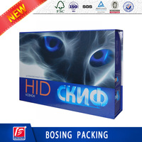 2016 Hot sale cardboard box for auto light ,cardboard auto light box,foam inserts for auto light paper box