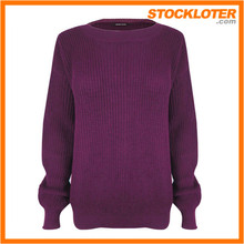 Hand Knit Sweater stylish women's sweater closeout, 161004i