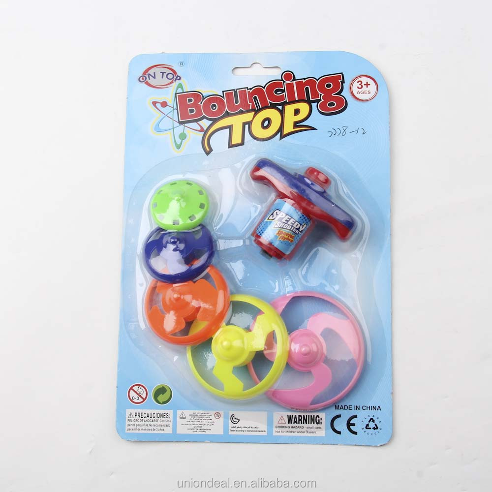 Interesting 5 layers bouncing top toy