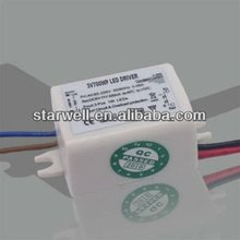 8V 6*1W isolated dimmable led bulb driver