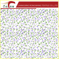 100% Polyester Twill Peach Skin Microfiber Fabric For Bedding pigment printing