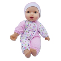 2016 Hot item 14 inch silicone plastic lovely baby doll for children