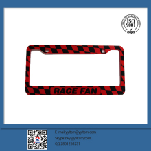 2017 new OEM customized high quality printing license plate frame