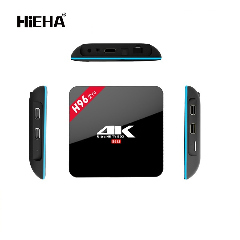 H96 Pro Amlogic S912 Octa Core Android 6.0 2gb / 16gb Wifi 2.4g/5.8g H.265 4k Bt4.0 Enough Stock Marshmallow tv box
