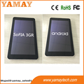 New 7inch android 5.1 os sofia quad core tablet pc build in micro sim card
