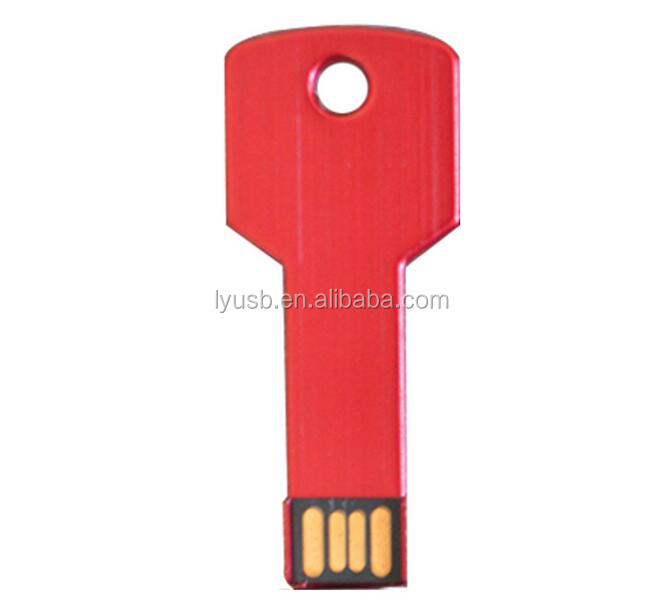 Wedding gift Key Shaped USB 2.0 Pen Drive 512MB 1GB 2GB
