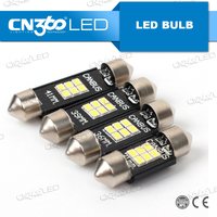 Canbus auto light bulbs 2W 31mm 36mm 39mm 41mm festoon led