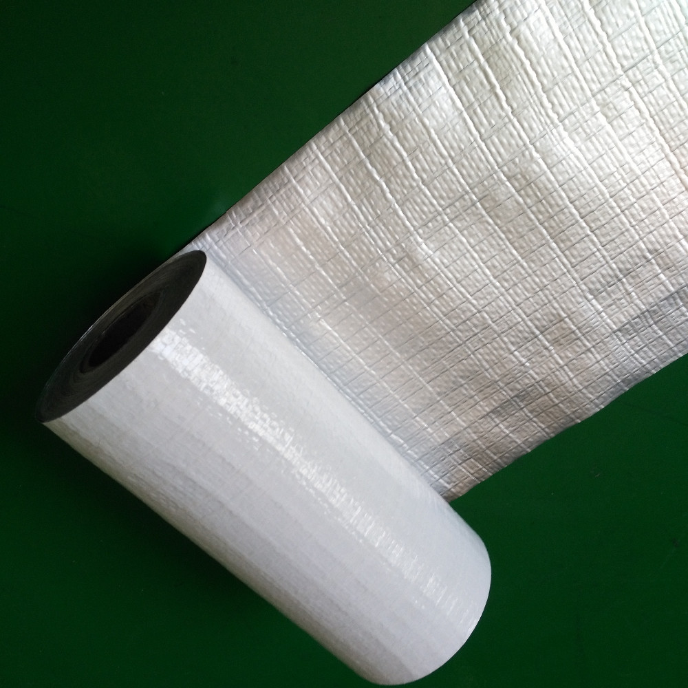 Reflective composited radiant barrier aluminium foil for Fireproof vapor barrier