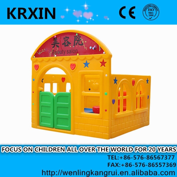 Kids outdoor cheap hot-sale Play House in kindergartens equipment