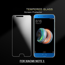 Screen protector Phone cover tempered glass for Xiaomi mi note 3